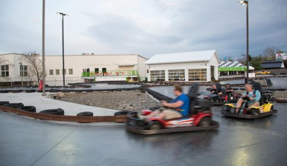 The Castle Fun Center - Photo Courtesy of the Castle Fun Center