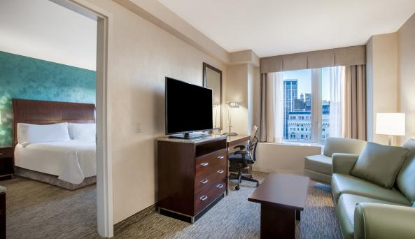 Suite at Hilton Garden Inn New York/West 35th Street