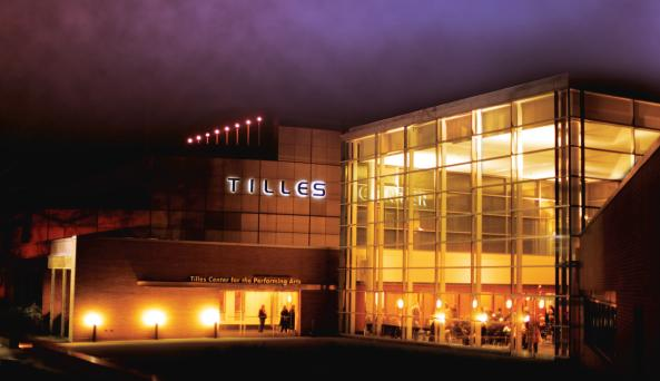 Tilles Center Auditorium Photo by Anne van der Does -ADLubow