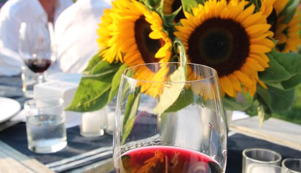 Vineyard Dinner floral