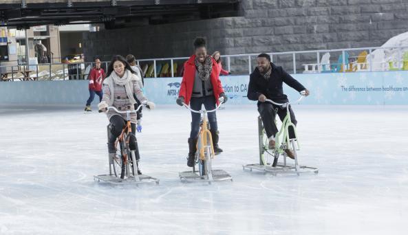 Ice Biking Canalside