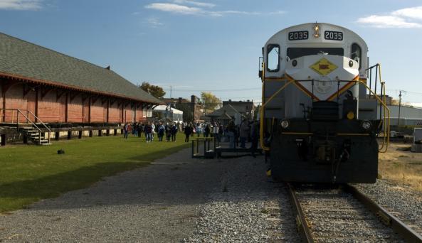 Medina Railroad Museum and Train Excursion