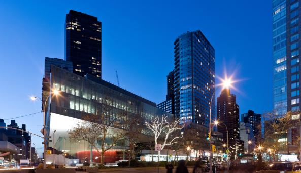exteropr of Alice Tully Hall