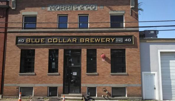 Blue Collar Brewery - ext