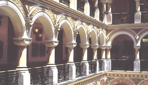 Inside of Rochester's Historic City Hall