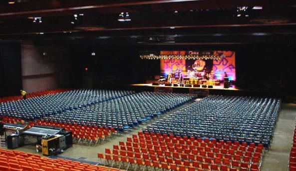 Civic Center - stage