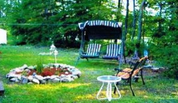 Cottage Backyard
