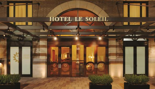 Exterior of Executive Hotel LeSoleil in Midtown West