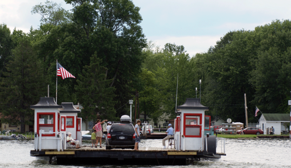 Bemus Point Stow Ferry
