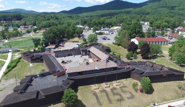 Aerial of Fort
