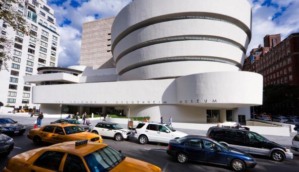 Solomon R. Guggenheim Foundation exterior