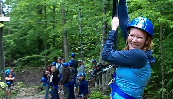 Aerial Zipline Course in the Adirondacks