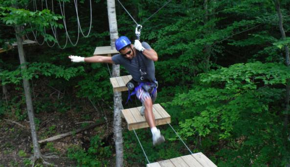 Aerial Ropes and Obstacles