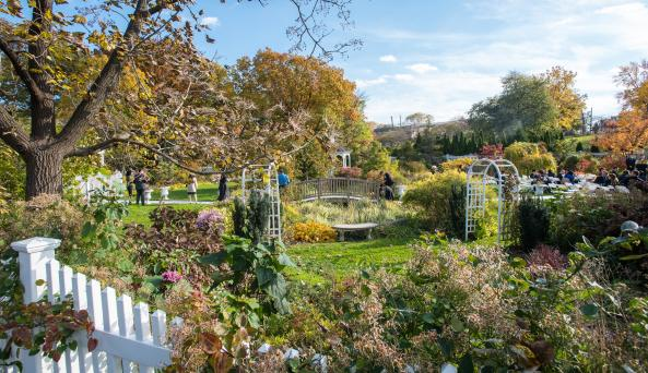 Queens Botanical Garden in Flushing