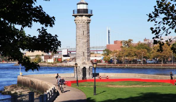 Roosevelt Island lighthouse