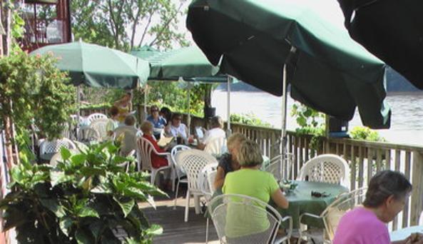 River Rose Cafe Deck