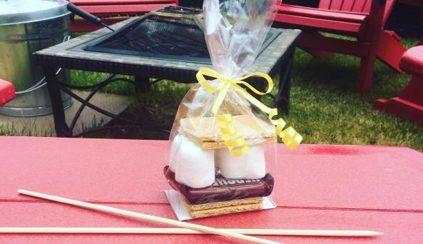 s'mores available