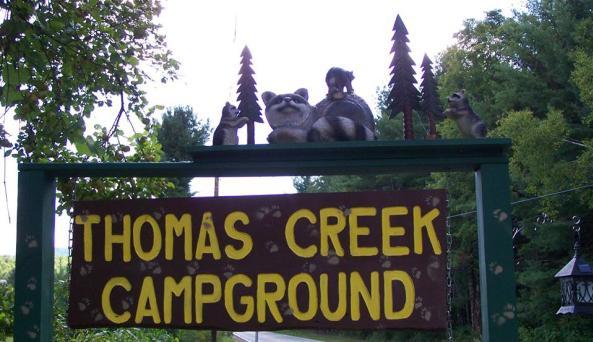 Thomas Creek Campground 1