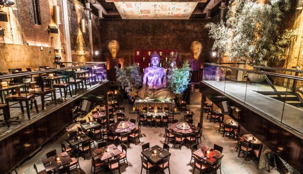 restaurant interior of Tao Uptown