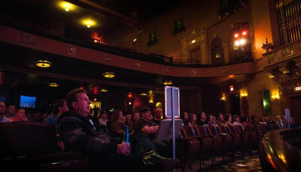 Inside the Jefferson Theatre