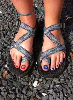 Sydney Toes. Photo Courtesy of Sydney Chase.