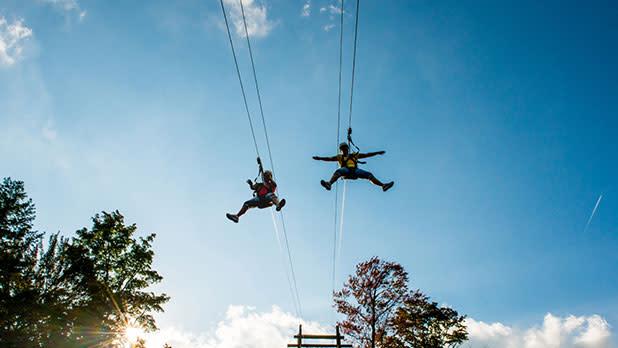 Peek N Peak Ziplining
