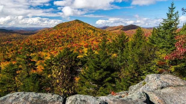 Castle Rock, Adirondacks