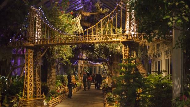 Holiday Train Show, New York Botanical Garden - Photo by Christopher Postlewaite - Courtesy of NYC &