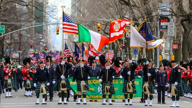 NYC St Patrick's Day Parade PHoto by Dominick Totino Photography Courtesy of NYC St. Patrick's Day