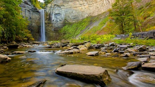 Taughannock Falls.