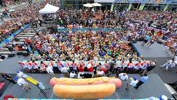 Nathan's Famous 4th of July Hot Dog-Eating Contest