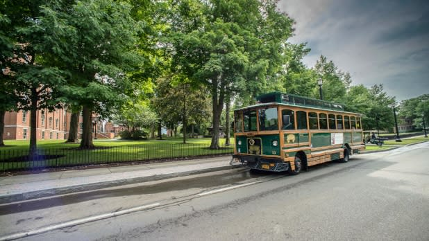Trolley into Mark Twain Country