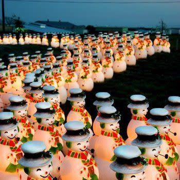 Lighting of the Snowmen