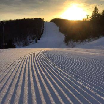 Groomed Snow at Blue Mountain Resort