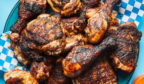 Phil's Caribbean Cuisine Jerk Chicken