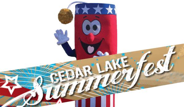 Cedar Lake Summerfest logo