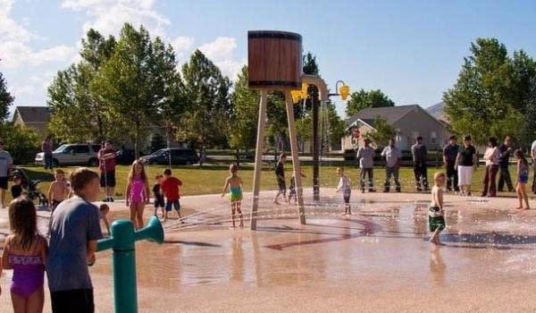 Summer Splashing in Utah Valley