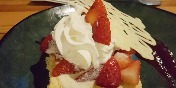 Strawberry Shortcake at 1912 in Benson