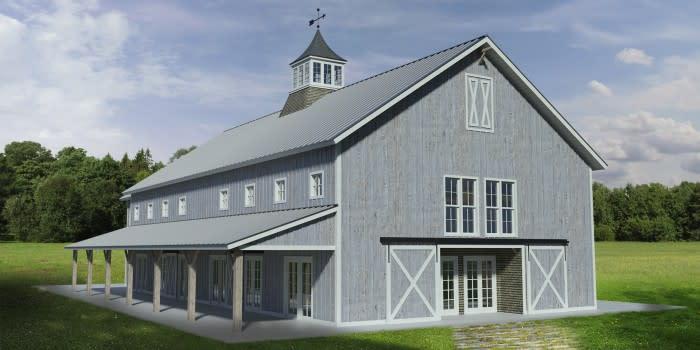 Barn at Chapel Hill rendering