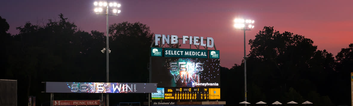 Harrisburg Senators Baseball Scoreboard