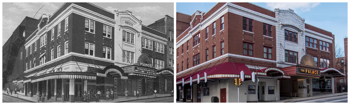 The Palace Theatre Then and Now