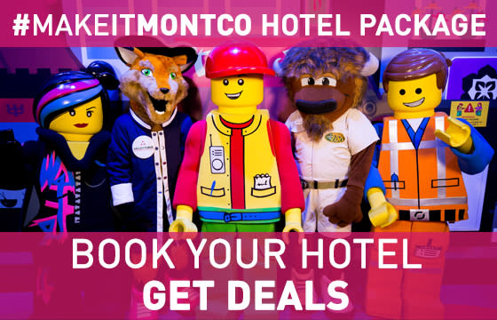 #MakeItMontco Hotel Package