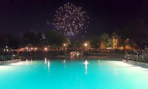 Wet'n'Wild Splash Town Fourth of July Fireworks