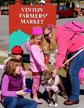 Vinton Kids & Dog - Town of Vinton