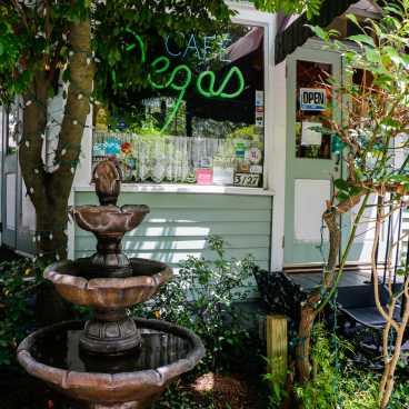Cafe Degas Exterior