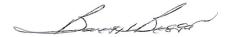 Barry Biggar signature