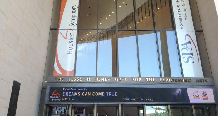 Jesse H Jones Hall for the Performing Arts, Houston