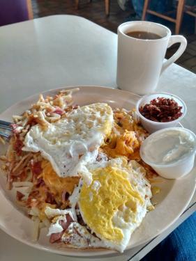 KD's The Rafferty breakfast
