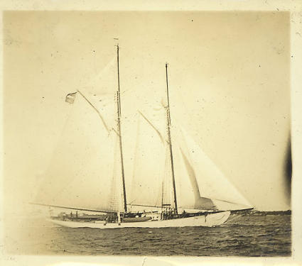 Schooner Zodiac historical photo
