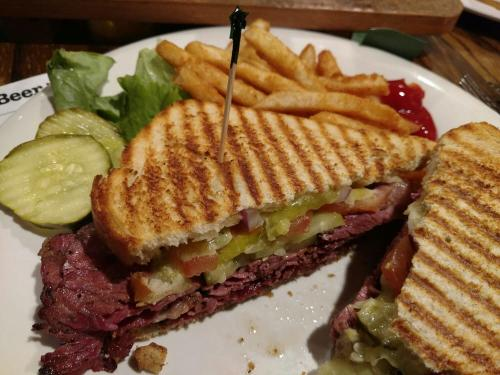 Donelly's Pastrami Panini Special